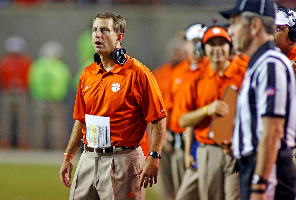 """All In"" Mentality - Dabo Swinney"