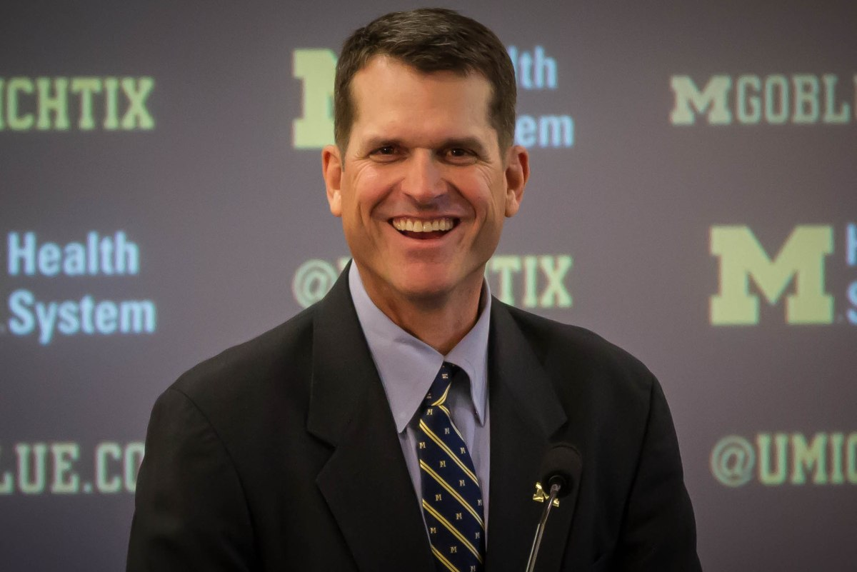 Be A Blue Collar Team - Jim Harbaugh