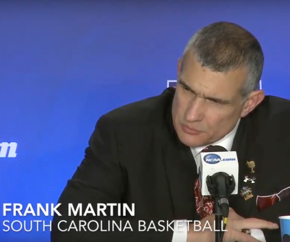"Frank Martin on defense - ""What do you teach first... Technique or Attitude?"" -"